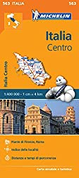 Italy Centre - Michelin Regional Map 563 (Michelin Regional Maps)