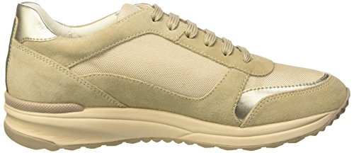 Geox D Airell C, Sneakers Basses Femme Beige (Lt Taupec6738)