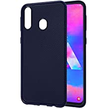 Solimo Mobile Back Case Cover for Samsung Galaxy M30 (Blue)