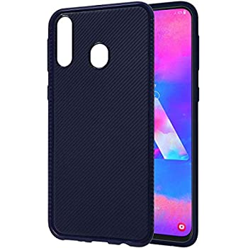 Amazon Brand - Solimo Mobile Back Case Cover for Samsung Galaxy M30 (Blue)