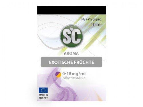 Preisvergleich Produktbild SC Exotische Früchte E-Zigaretten Liquid,  10 ml