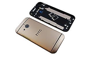 HTC One Mini 2 M5 M8 Mini Akkudeckel Battery Akku Cover Deckel Gehäuse Original Neu gold