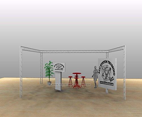 Messebau mit Deco Truss T220-2, U Form mit 6x4x3m - Messestände Stand für Messe Messe Stand für Gewerbeschau