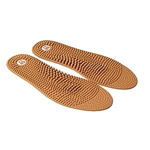 Revs Reflexzonenmassage-Einglegesohlen. Sehr gut gegen Plantar Fasciitis und Schmerzen im Fuss. Warme Füsse, erleichtert den Schmerz und Druck, nimmt den Schmerz bei müden Füssen und Beinen.