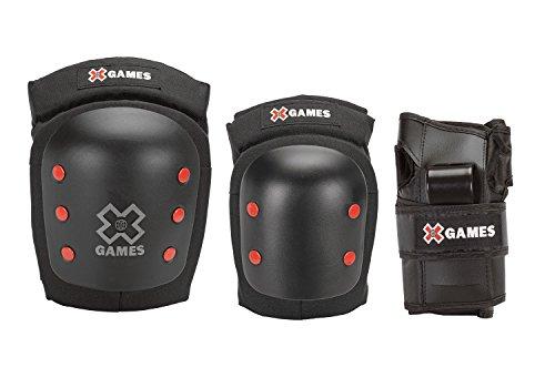 Unbekannt x-Games Big Air Pro Deluxe Youth Ellenbogen, Knie und Handgelenk Pad Set