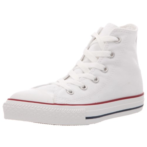 Converse Chuck Taylor All Star Season Hi, Baskets mode fille Blanc (Blanc Optical)