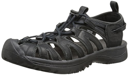 KEEN Whisper Leather W Scarpa 9,5 black/raven