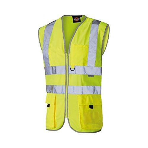 Dickies - Gilet di sicurezza ad alta visibilità - Uomo (XL) (Giallo)