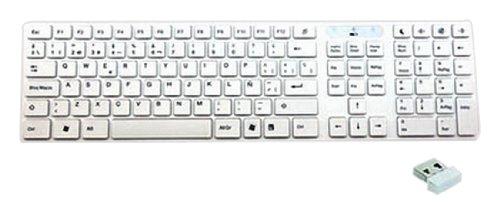 Woxter TE26-009 - Teclado blanco K 200 White