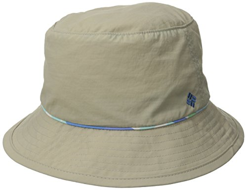 Columbia Damen-Hut Bahama Large/X-Large Fossil/Harbor Blue Shadow Chk
