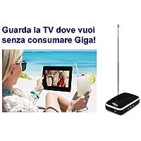 Récepteur Numérique Terrestre WiFi mod. Libellule Cobra, iOS et Android, pour tablette et smartphone