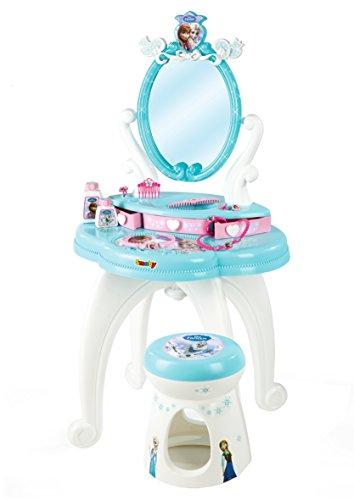 Smoby Disney Frozen -Tocador con banqueta + accesorios