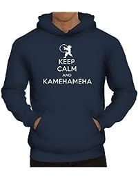 Serien Herren Kapuzenpullover Keep Calm And Kamehameha