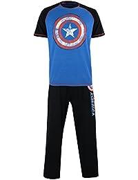 Marvel Mens Avengers Captain America Pyjamas