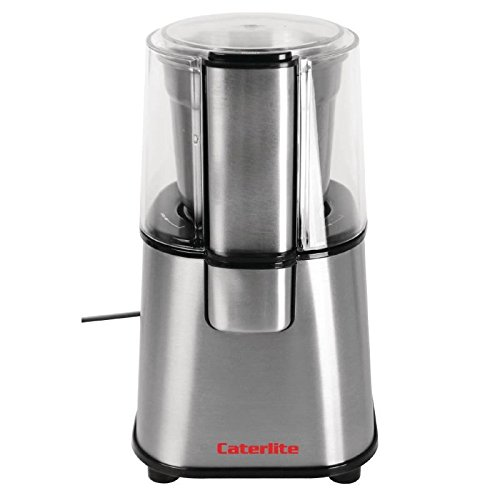 Caterlite CK686 Coffee/Spice Grinder, Silver