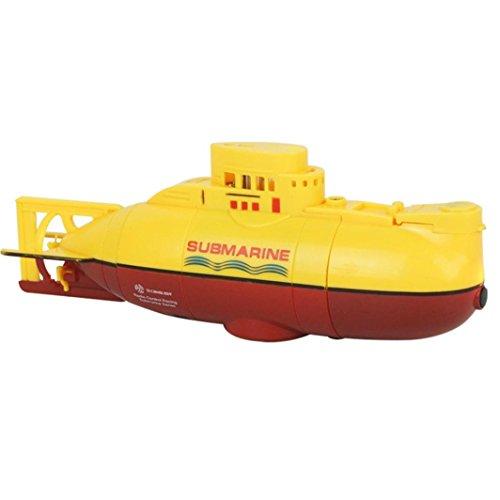 Wokee Ferngesteuertes Boot High-Speed Rennboot, Funkferngesteuertes RC U-Boot Spielzeug Mini Unterwasser Tauchbar Boot Racing Boot mit Ersatzakku