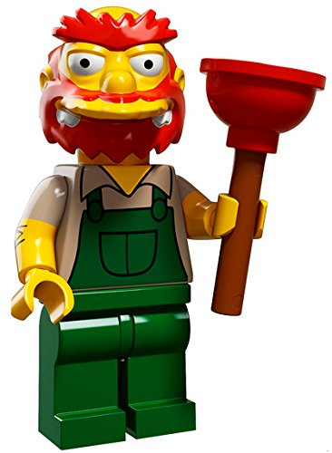 LEGO The Simpsons Simpsons Series 2 Groundskeeper Willie Minifigure [Loose] by LEGO