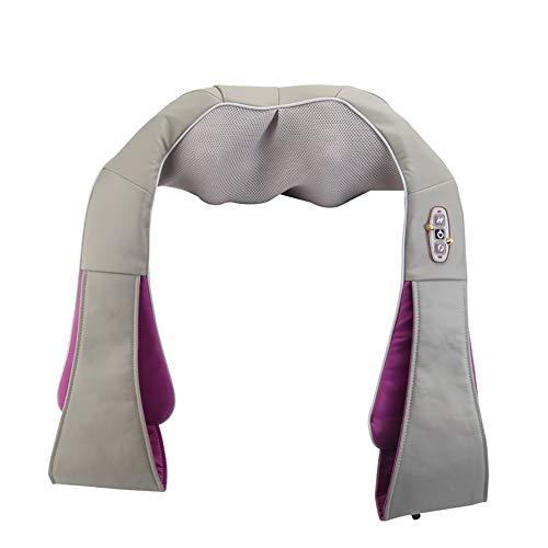 Preisvergleich Produktbild Nackenmassagegerät Shiatsu Rücken-Schultermassagegerät mit Infrarot-Heizung - Knetmassage mit tiefem Gewebe Einstellbar Intensität - Verwendung im Büro