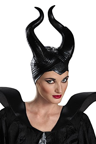 Disguise Deluxe Maleficent Horns - Maleficent'deluxe Adult Kostüm