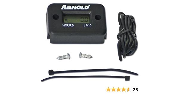 Arnold Betriebsstundenzähler 6011 Hm 0001 Baumarkt