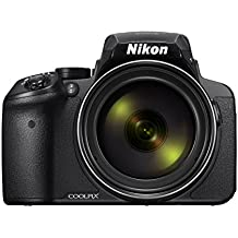 Nikon COOLPIX P900 Digital Camera - Black (16.0 MP CMOS sensor, 83x Zoom) 3-Inch LCD Screen (Renewed)