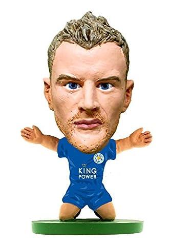 SoccerStarz soc1071Classic Leicester Jamie VARDY Home Kit