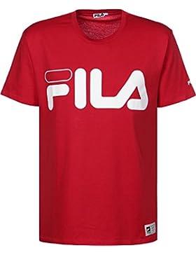 Fila Classic Logo Camiseta true red