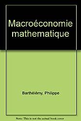 Macroéconomie mathématique