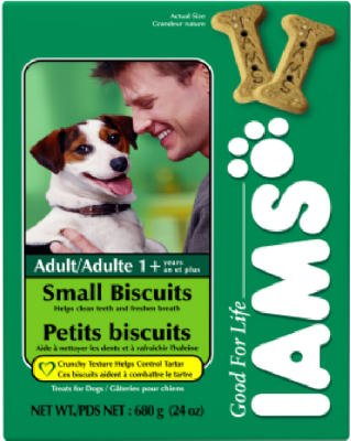 Artikelbild: Iams Dog Biscuit Orig. Small - by American Distribution & Mfg