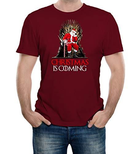 Reality Glitch Herren 's Christmas is Coming T-Shirt Gr. XXXL, ()