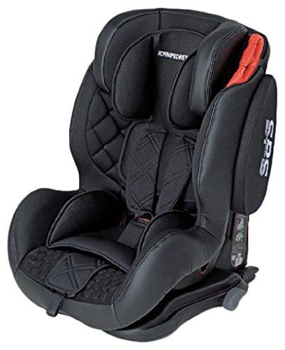 Foppapedretti Isodinamik, Groupe de sièges d'auto 1/2/3 Isofix, Noir