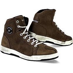 Zapatillas urbanas de Stylmartin, modelo Marshall, color marrón, tamaño 43