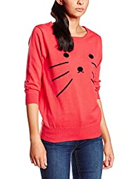 Pepa Loves, SWEATER EMB.CAT CORAL - JERSEY para mujer