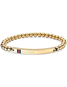 Tommy Hilfiger Jewelry Damen-Armband Classic Signature Edelstahl Emaille 16 cm - 270078