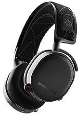 SteelSeries Arctis 7 - Cuffie da Gioco - Wireless Senza Perdite - Tecnologia Surround DTS Headphone:X v2.0 per PC e PlayStation 4 - Nero [Edizione 2019]