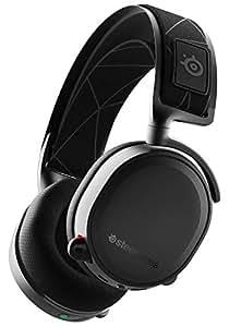 SteelSeries Arctis 7 - Gaming Headset - verlustfreies und drahtloses - DTS Headphone:X v2.0 Surround für PC und PlayStation 4 - Schwarz [2019 Edition]