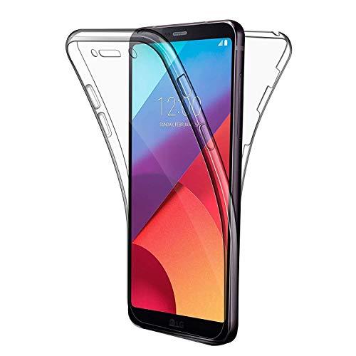 27b240814db COPHONE Funda LG G6, Transparente Silicona 360°Full Body Fundas para LG G6  Carcasa
