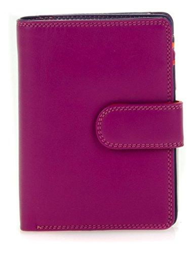 Mywalit - leder damen Geldbörse - medium wallet w/zip purse - 390-75 - sangria - Compact Credit Card Wallet