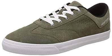 United Colors of Benetton Men's Brown903 Sneakers - 10 UK/India (44.5 EU)