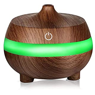 KUNSE 7 Soothing LED Light Ultrasonic Aroma Diffuser Essential Oil Humidifier Air Aromatherapy Purifier-Type 2
