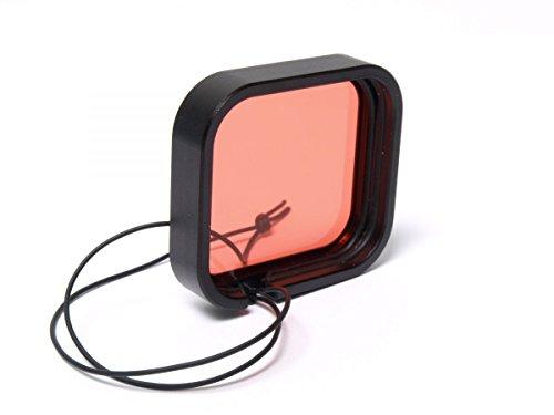 h2o-Tools Rotfilter für GoPro Hero 3 (Maske H2o)
