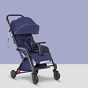 C.N. High Landscape Stroller Can Be Boarded and Portable Folding Can Sit Reclining Portable Children's Trolley Baby Umbrella Familidoo Multi position adjustable backrest recline Detachable handle bar/bumper  Suitable from birth 8