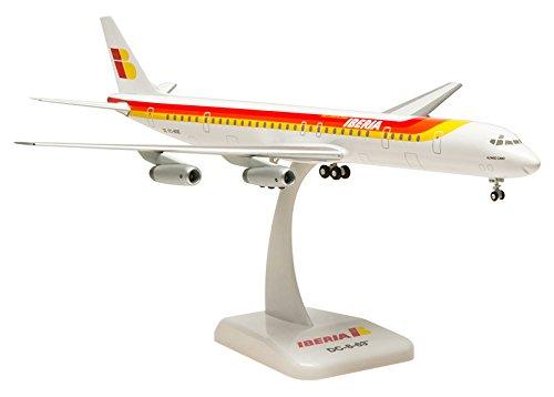 Maqueta de avión (Iberia DC-8-63, escala 1:200)