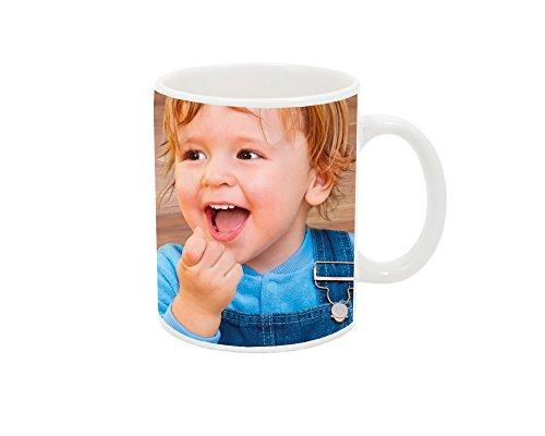 Tazas cerámica de desayuno personalizada con tus fotos.
