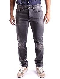 Galliano Herren MCBI130021O Grau Baumwolle Jeans