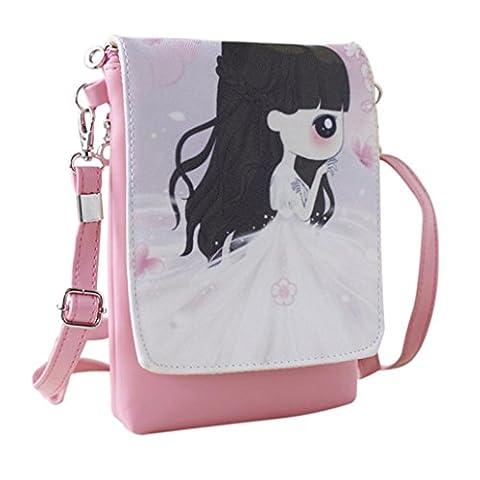 Rucksack Rcool Umhängetaschen Damen Handtaschen & Karikatur Handtaschen Kinder Mädchen Mini Crossbody Tasche (C)