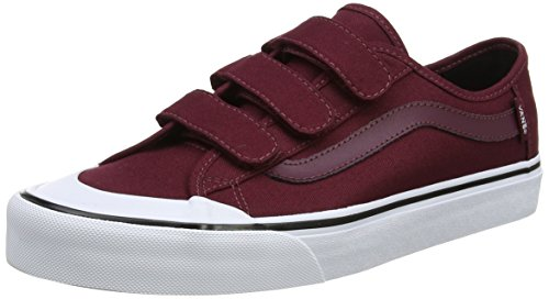 Vans Herren MN Black Ball Priz Sneakers, Rot (Port Royale), 44.5 EU (Prison Issue Vans)
