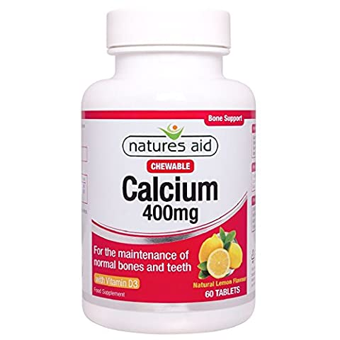 Calcium(Chewable) 400mg 60 Tablets