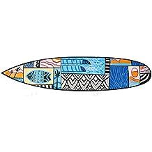 Cartel de madera en Surf Look 100 cm Decoración con peces diseño de Mare Mar Tabla