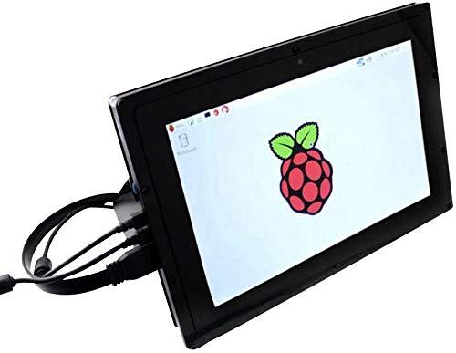 Preisvergleich Produktbild Joy-IT Raspberry Pi Touch-Display-Modul Schwarz RB-LCD10 Raspberry Pi, Raspberry Pi 2 B, Raspberr